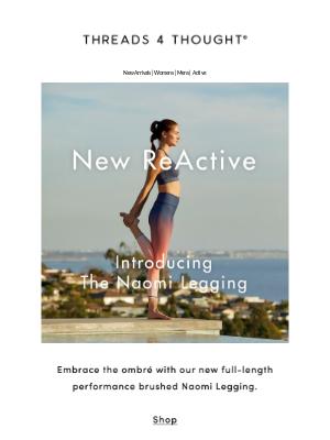 New ReActive | The Naomi Legging
