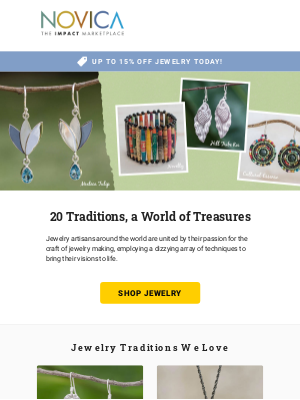 Jewelry Sale + 20 Jewelry Traditions We Love!