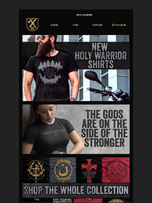 Ranger Up Military and MMA Apparel - The Gods are on the side of the Stronger.