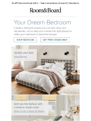 How to create a calming bedroom retreat