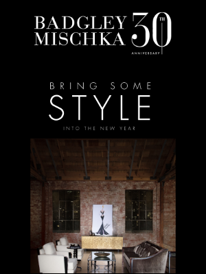 Bring style into the new year with 30% off Home