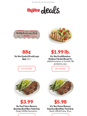 Hy-Vee - Your New Weekly Hot Deals Are Here!