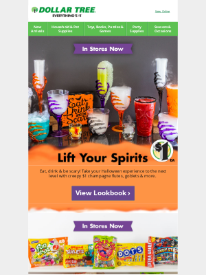 Dollar Tree - 🍷 Serve Halloween Party Potions in Style!