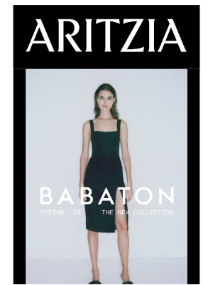 New Spring '20 Babaton Launches Today
