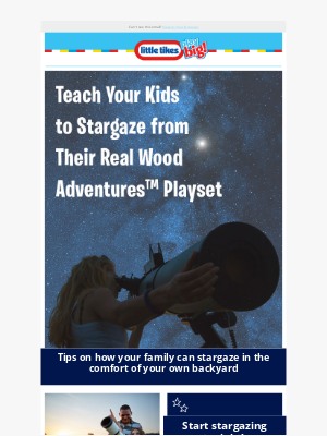 Little Tikes - Take Your Kids Stargazing in Your Own Backyard