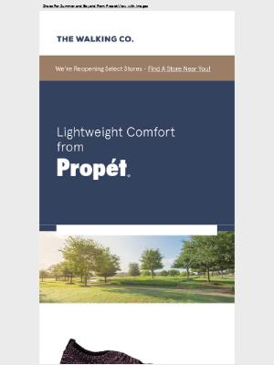 The Walking Company - Lightweight Comfort