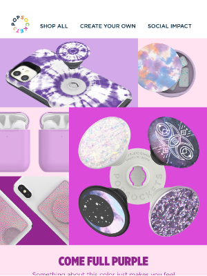 PopSockets - Party for the Purple 😈