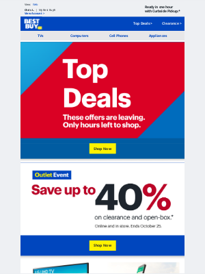 Best Buy - The OFFERS just keep coming