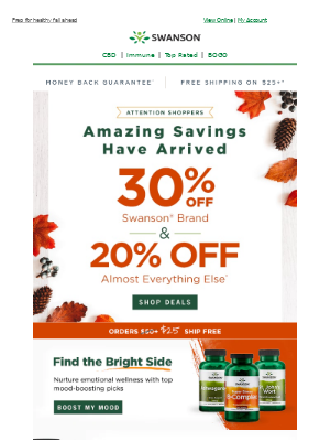 Swanson Health Products - 😳 Jaw, dropped… check out these deals.