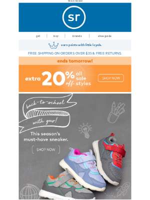 Stride Rite - Take on the Classroom with Gus 📘