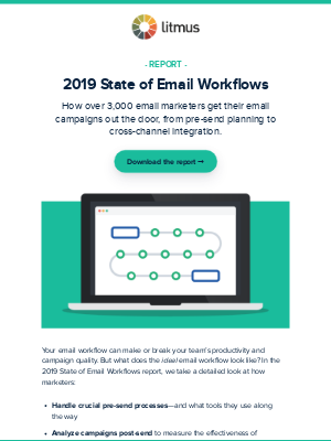 Report: 2019 State of Email Workflows