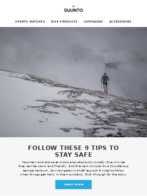 Managing difficult situations in the mountains