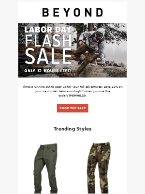 Beyond Clothing - ⏰Labor Day VIP Flash Sale Ending Soon