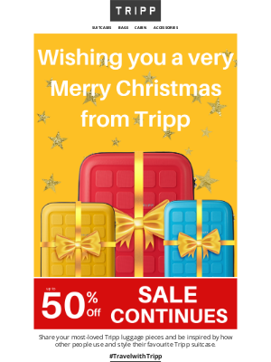 Tripp (UK) - 🎄Merry Christmas from Tripp