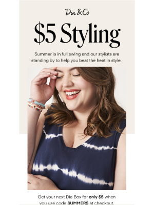 Dia&Co - Last Chance! Summer style for only $5