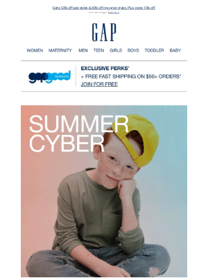 Old Navy Outlet - Order now for 50% off SALE
