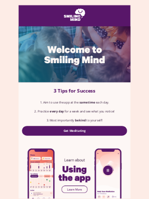 Smiling Mind - Welcome to Smiling Mind - Clear, Calm, Content