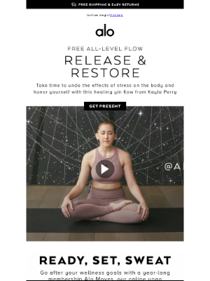 Alo Yoga - FREE Tension Relief for Body & Mind 🧿