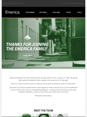 Emerica - Welcome to the Emerica Family!