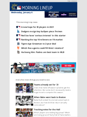 Mlbshop - A new hope for 30 players in 2021