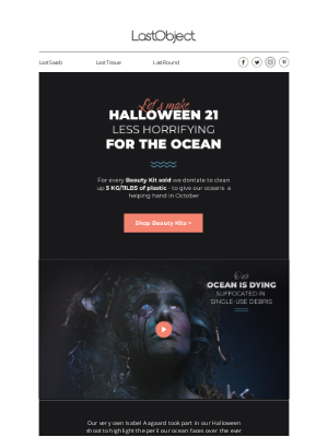LastObject - Let's make Halloween 2021 more sustainable 🎃🦇💀