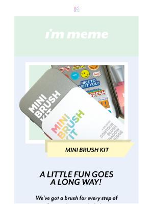 Memebox - A mini kit for BIG impact! 👊️