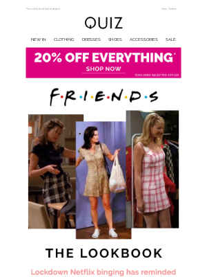 Quiz Clothing (UK) - Friends style steals ❤️️