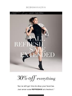 BCBG - Sale Extended: 30% off