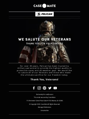 Case-Mate - Thank You to Our Veterans 🇺🇸