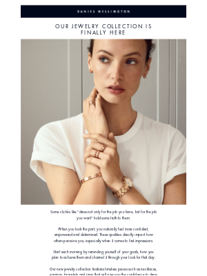 Daniel Wellington - Introducing the new Jewelry Collection