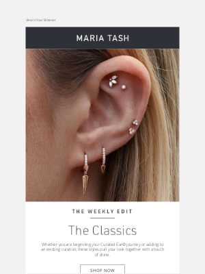Venus by Maria Tash - They Are Classics for a Reason