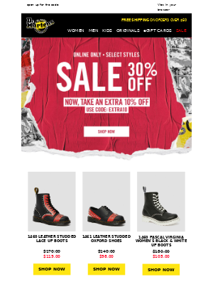 Take an extra 10% off sale