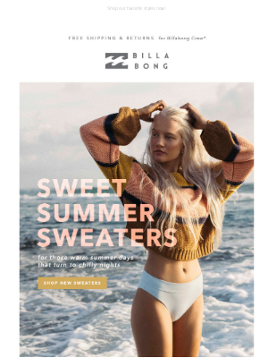 Summer's sweetest sweaters