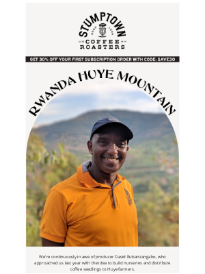 Stumptown Coffee Roasters - Producer Spotlight: Rwanda Huye Mountain