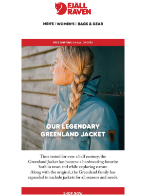 Fjällräven - Our Legendary Greenland Jacket
