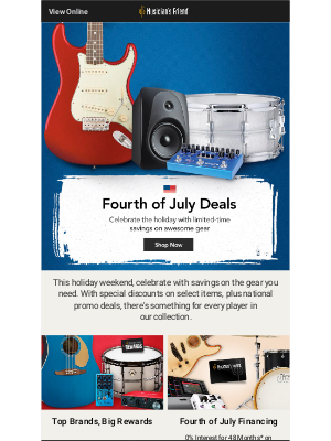 Happy Fourth of July: Enjoy limited-time savings on great gear