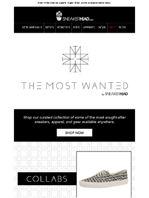 Shop THE MOST WANTED by SNEAKERHEAD