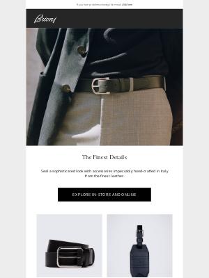 Brioni - The Finest Details
