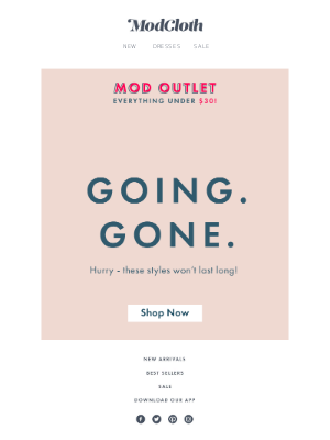 Say what? ModOutlet prices have just gotten lower 👏
