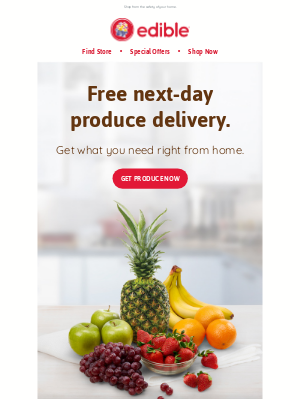 Edible Arrangements - Free next-day delivery on essential produce.