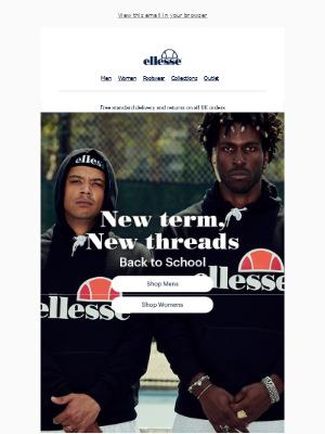 ellesse - New term, new threads