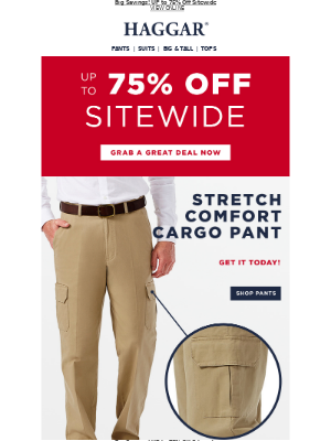 FINAL DAY! Shorts from $19.99, Pants from $22.98