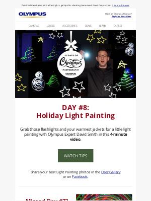 Olympus - Day #8: Light Painting +