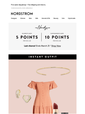Nordstrom - Instant Outfit: Easter Sunday