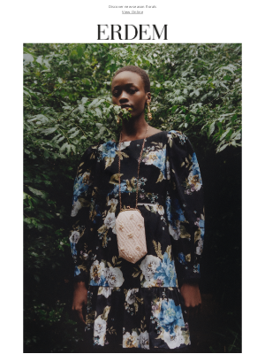 Erdem Moralioglu Ltd (UK) - Pre Spring 2021 | Floral Refresh
