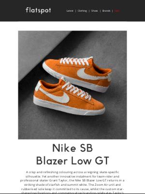 Flatspot - Nike SB Blazer Low GT - Shop Now