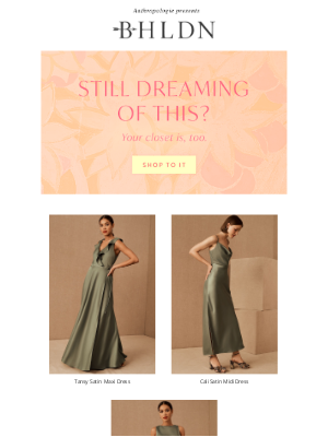 BHLDN - We like your style…