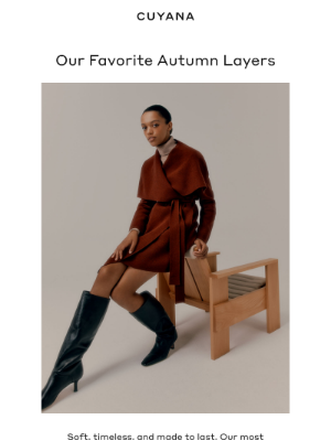 Cuyana - Our Favorite Coat In A New Hue