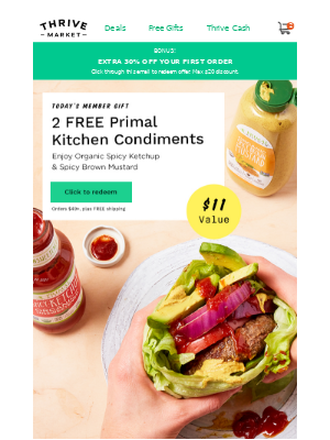 2 FREE Primal Kitchen flavor boosters ($11 value)