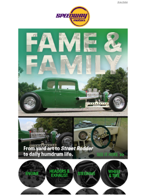 Speedway Motors - '32 Chevy Coupe: From yard art to family hot rod.